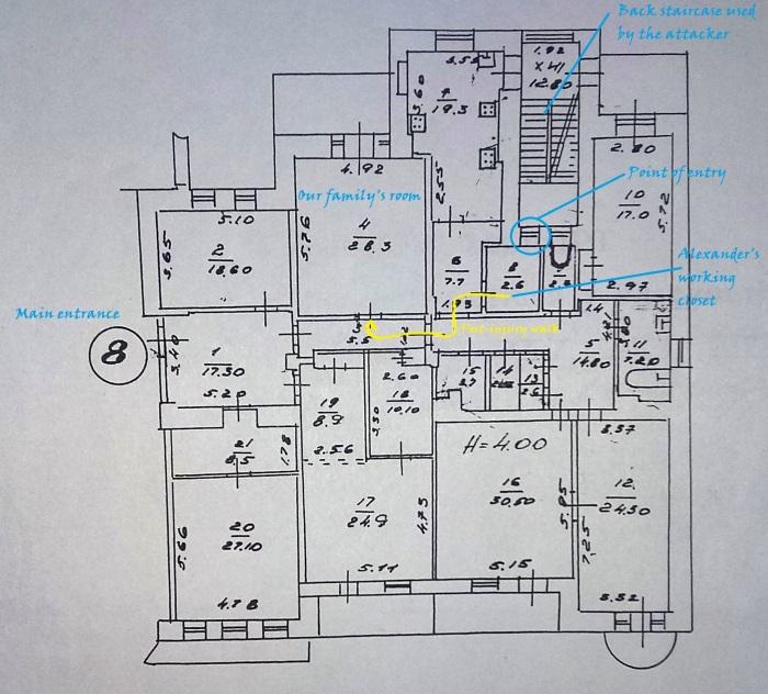Floorplan apt 8